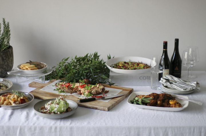 CÔTE Wild Hearts Wedding Vendor Directory - a sophisticated spin on classic catering for weddings - food platters